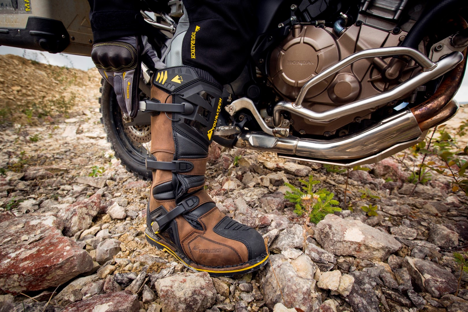 Botas Touratech Destino Adventure, tres en una