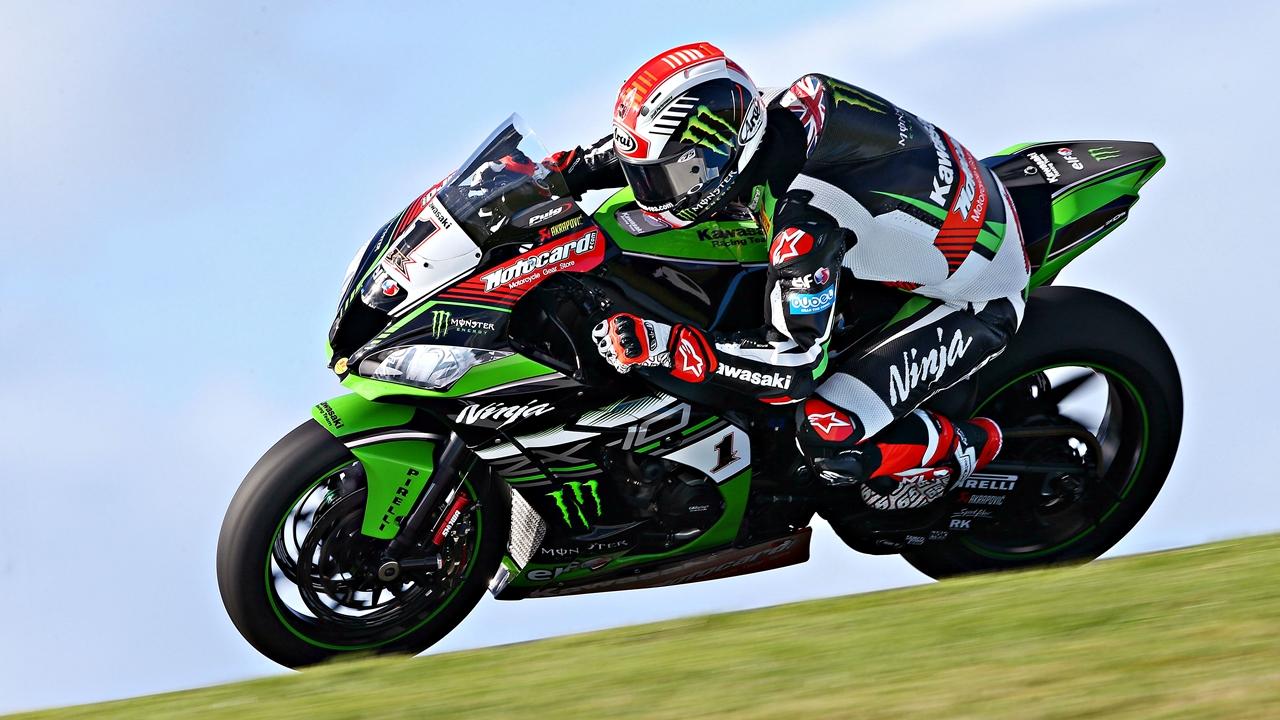 Jonathan Rea manda en Phillip Island por delante de las Ducati