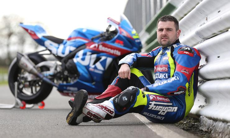 Michael Dunlop ficha por Suzuki para el Tourist Trophy, ¡más madera!