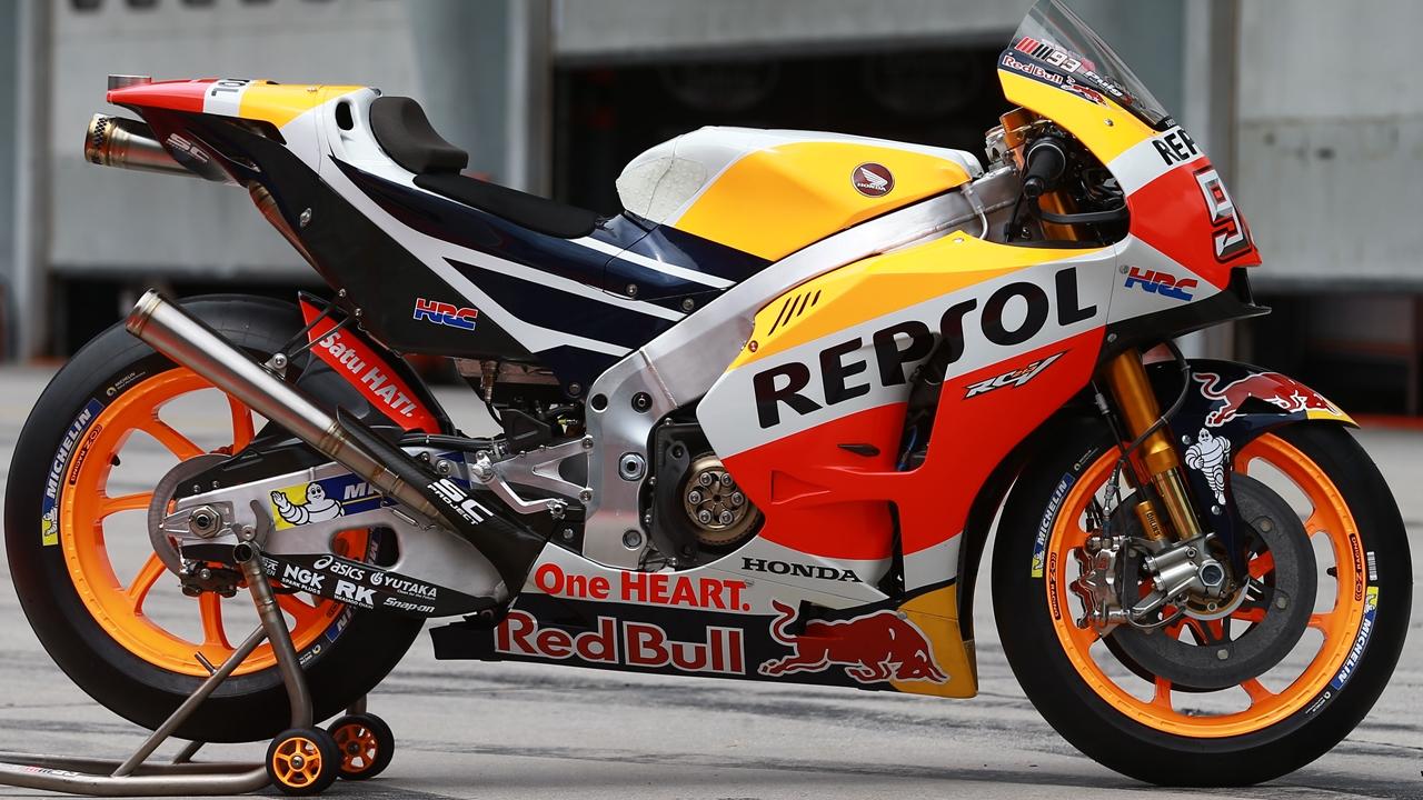 Marc Márquez y Dani Pedrosa probarán el nuevo motor 'big bang' de Honda en Jerez