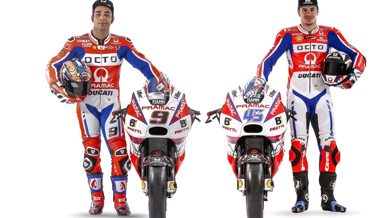 El Pramac de Danilo Petrucci y Scott Redding, más rojo y más Ducati en MotoGP 2017