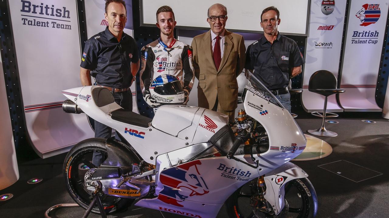 Nace la British Talent Cup, la ruta británica para llegar a MotoGP