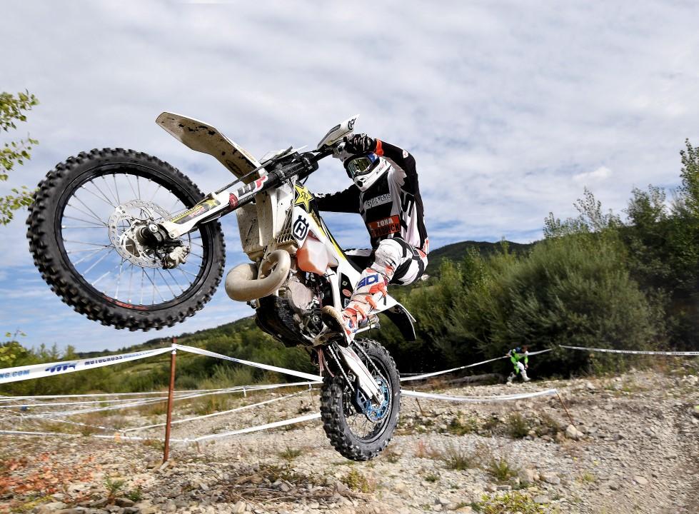 Husqvarna TE 300 Graham Jarvis, probamos la moto del rey del enduro extremo