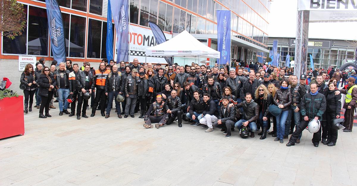MotoMadrid 2017: Espacio para asociaciones y clubes