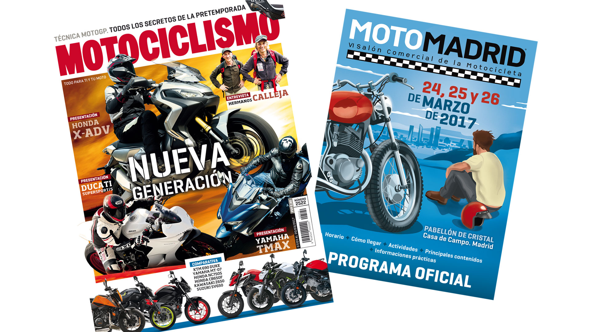 Nueva generación de motos en MOTOCICLISMO
