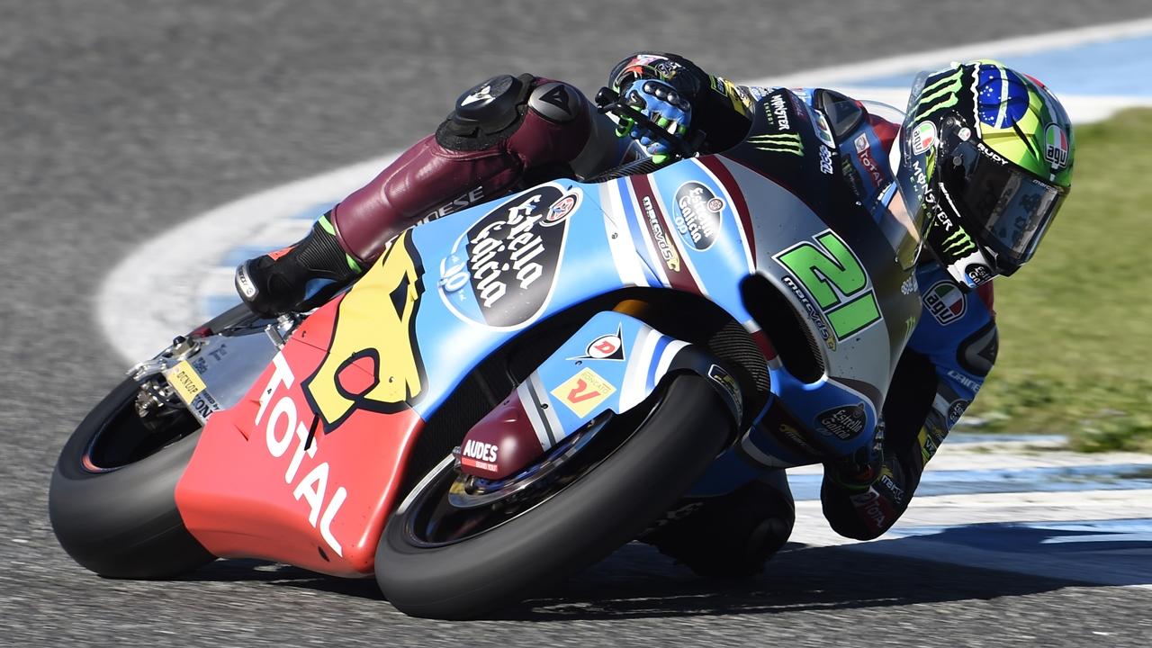 Franco Morbidelli y Nicolò Bulega lideran el segundo día en Jerez en Moto2 y Moto3