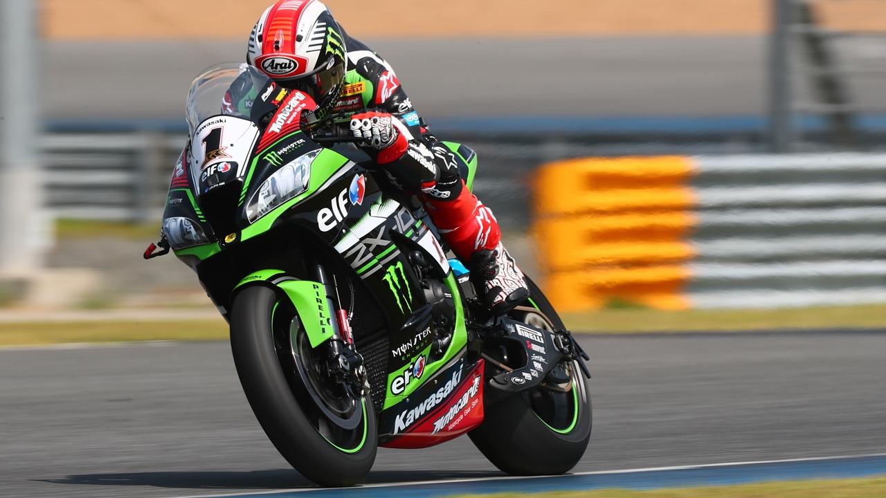 Jonathan Rea no se pide días libres en la llegada de Superbike a Tailandia