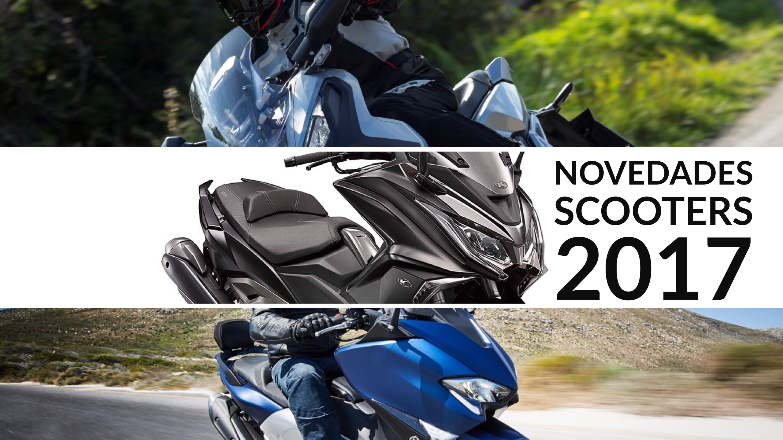 Novedades Scooter y Maxiscooter 2017