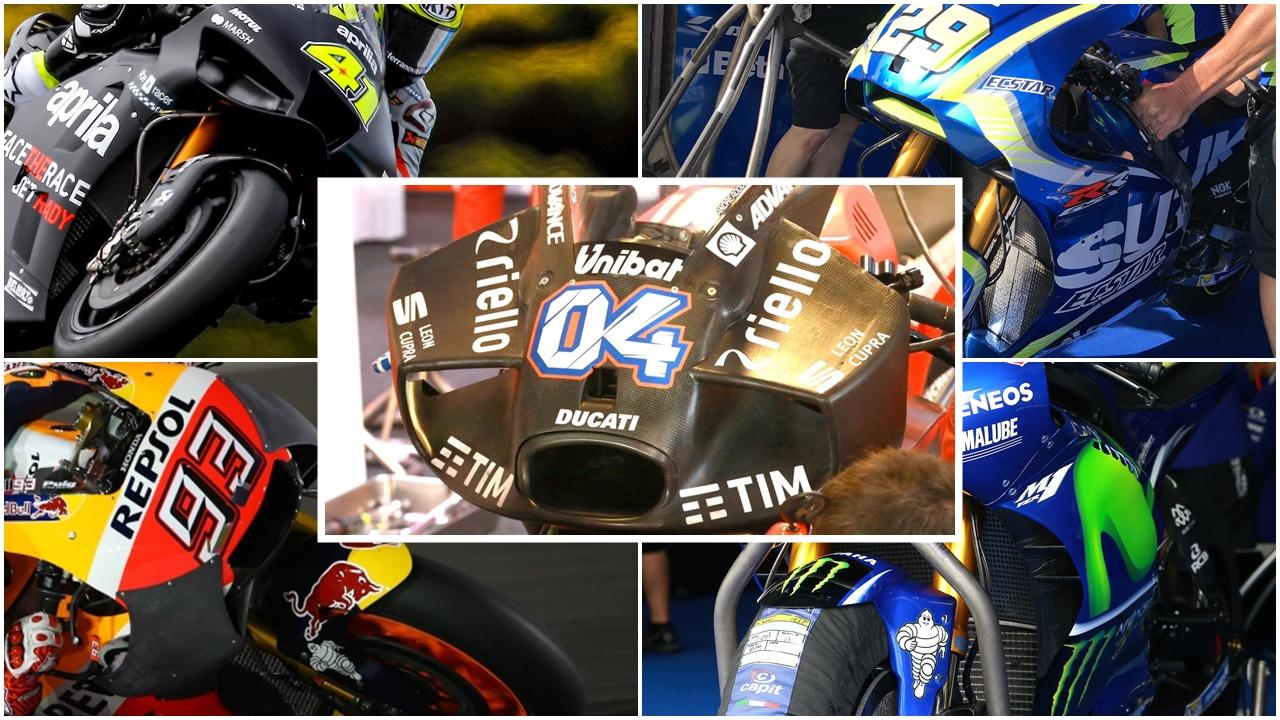 2017, el año que MotoGP reinventó el carenado