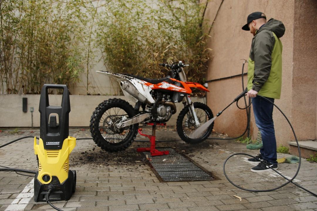 14 claves para lavar tu moto off road correctamente