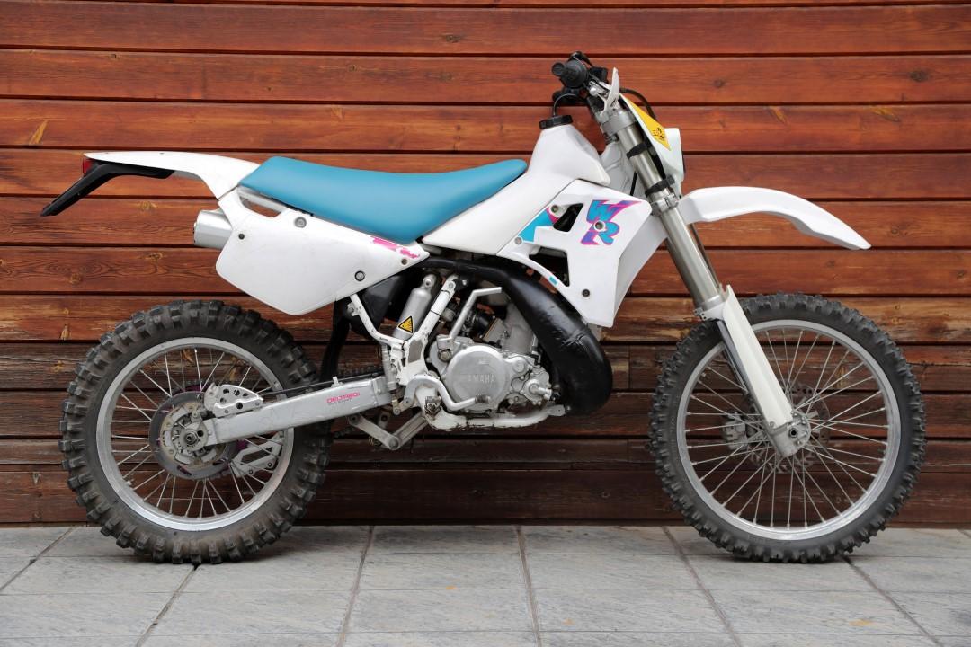 Yamaha WR 250 1992, una de las primeras enduro de la marca