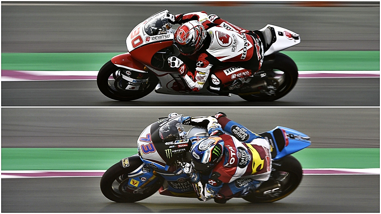 Takaaki Nakagami y Álex Márquez comparten la pole antes de Moto2 2017