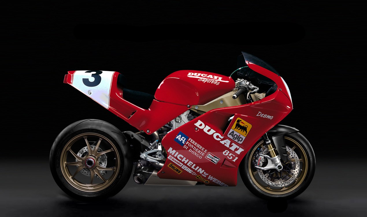 Alguien ha fusionado la Ducati 1199 Superleggera con la 851 y el resultado es espectacular