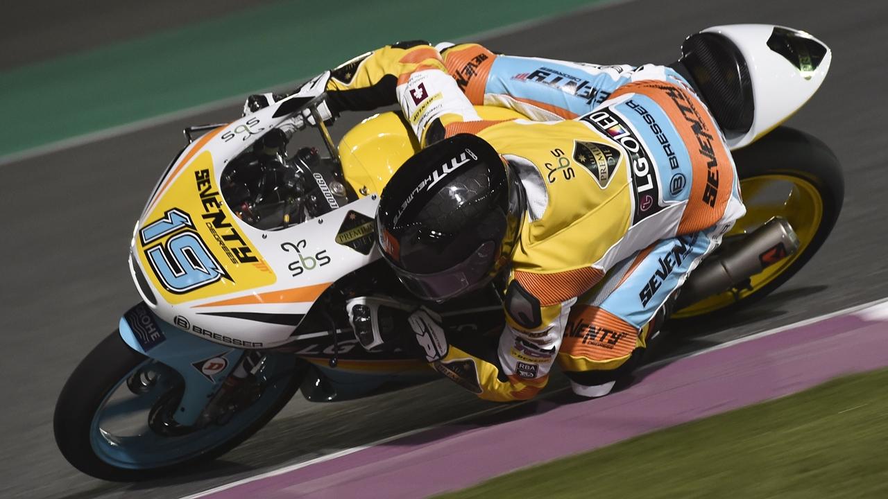 Gabriel Rodrigo se fractura la clavícula y se despide del GP de Qatar