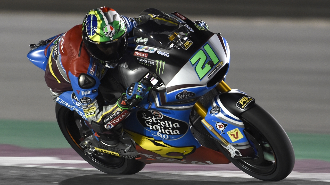 Franco Morbidelli y Álex Márquez dominan el viernes de Moto2 en Qatar 2017