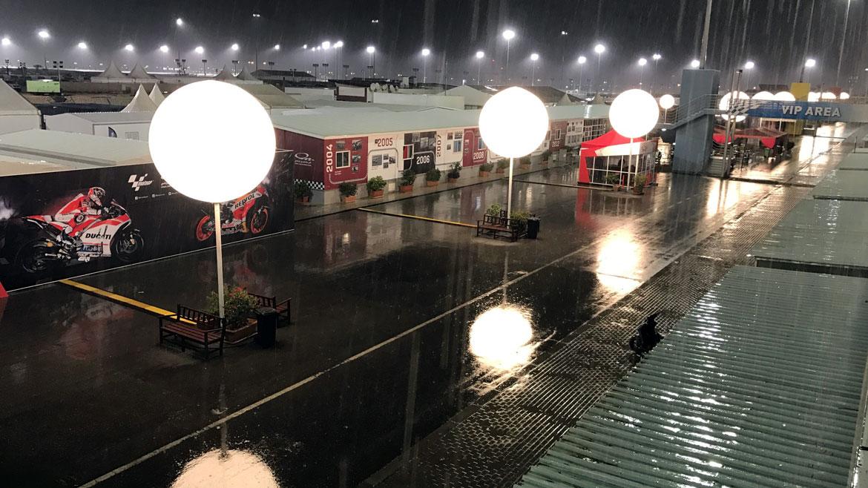 La Comisión de Seguridad de MotoGP deja abiertas todas las opciones en caso de lluvia
