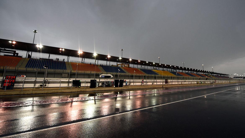 Cancelados los entrenamientos de Qatar. Maverick Viñales pole en MotoGP