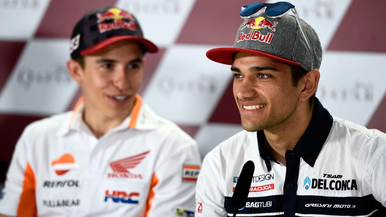 """Jorge Martín, pole en Moto3: """"Estaba más nervioso en rueda de prensa que en una carrera"""""""