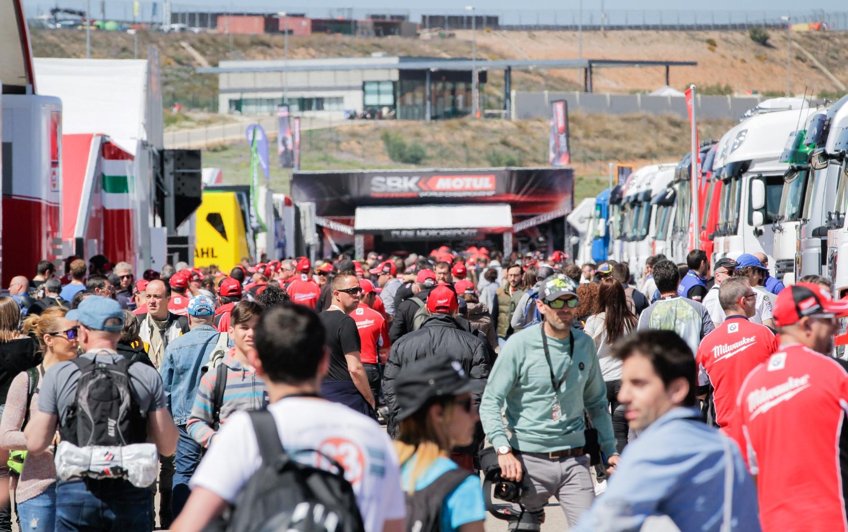 Actividades para disfrutar del Mundial de Superbike en Aragón