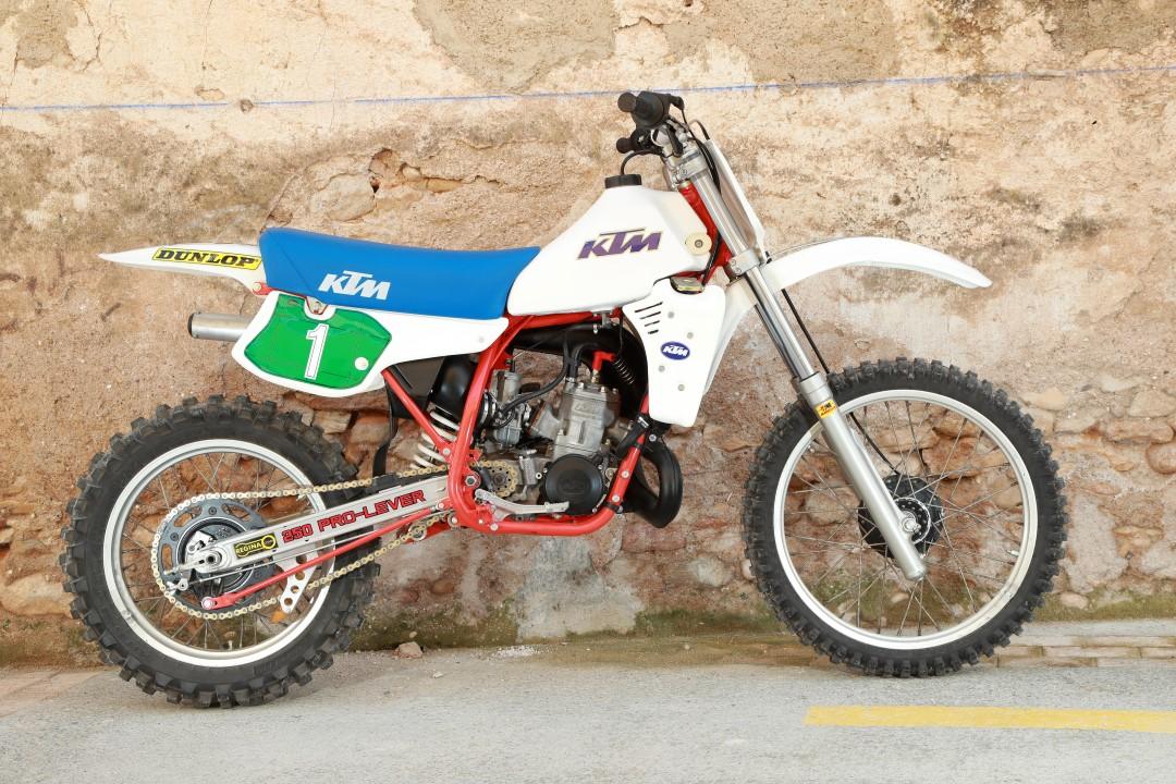 KTM 250 MX 1984, toda una campeona del mundo de MX