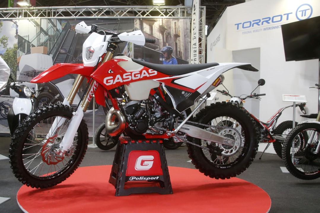 Gas Gas presenta  sus nuevos modelos en Motoh! Barcelona