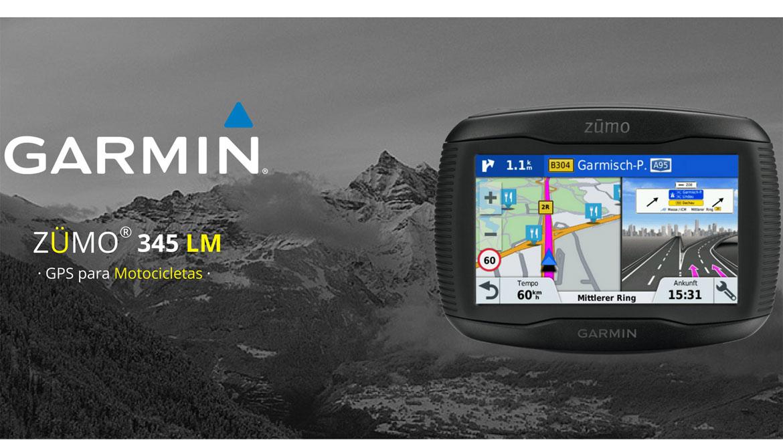 Gana un GPS Garmin ZUMO 345 LM