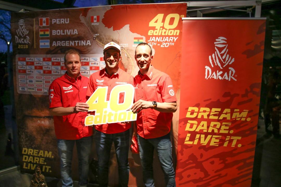 Presentada en Barcelona la 40ª edición del Dakar
