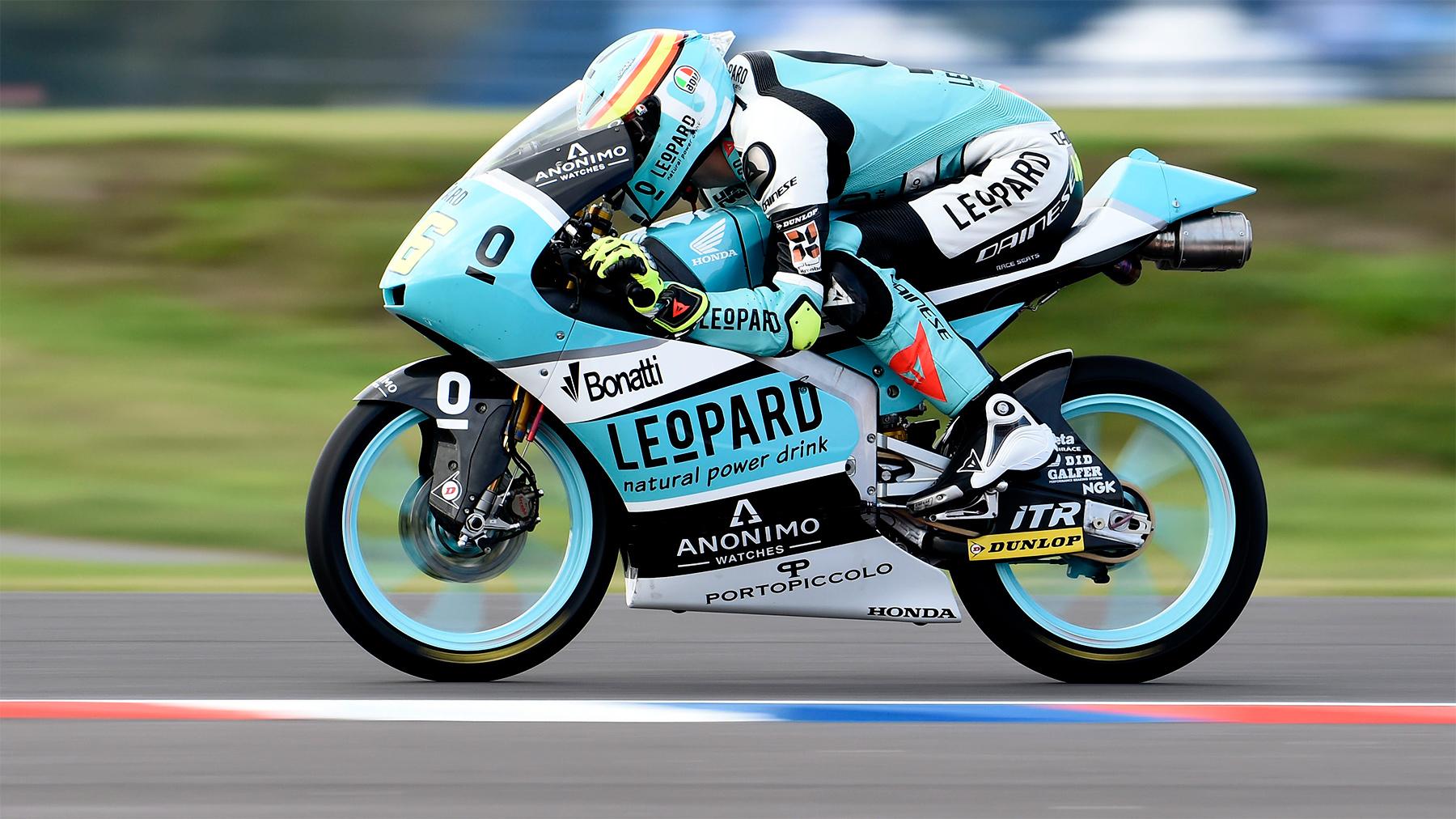 Joan Mir lidera los libres de Moto3 en Argentina con más de medio segundo