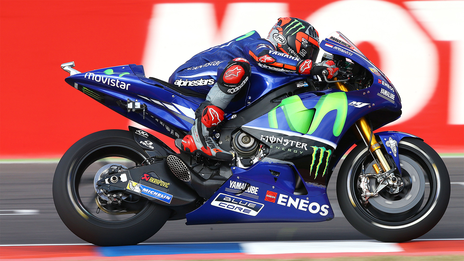 Maverick Viñales es el más rápido en MotoGP y Rossi, Lorenzo y Dovizioso no entran en el top 10