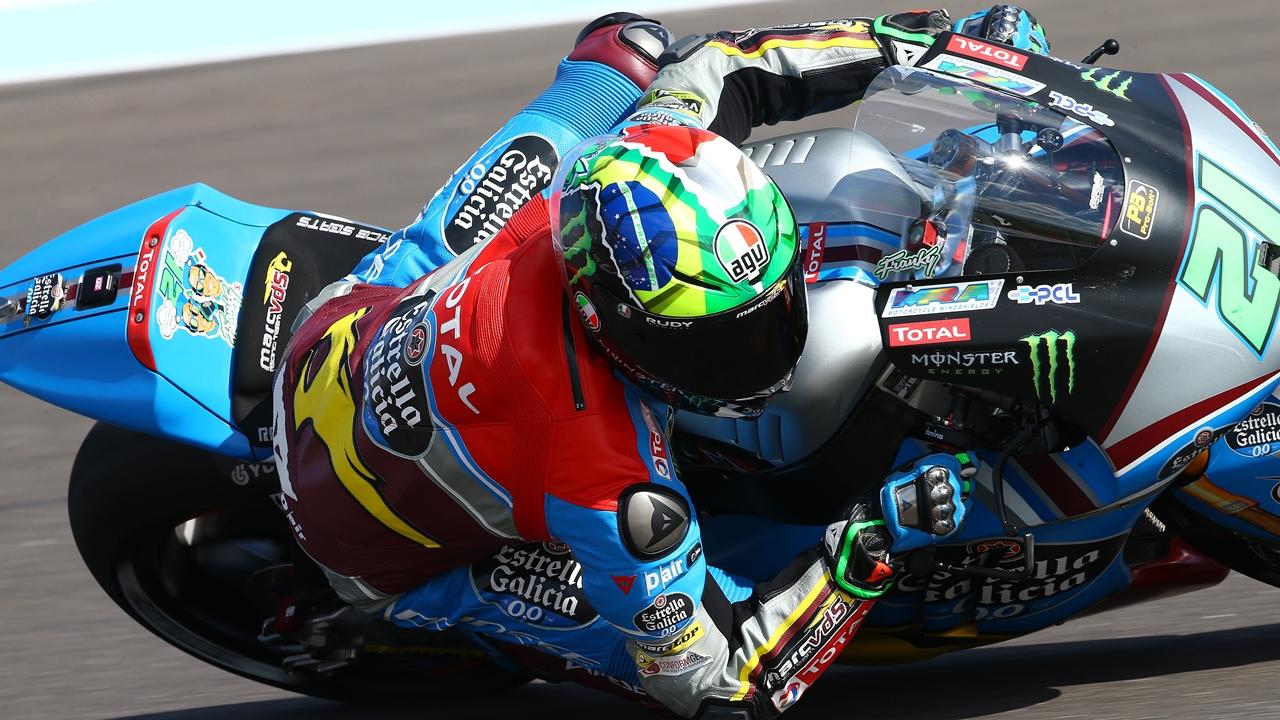 Franco Morbidelli completa en Moto2 la fiesta de los líderes en el viernes de Argentina