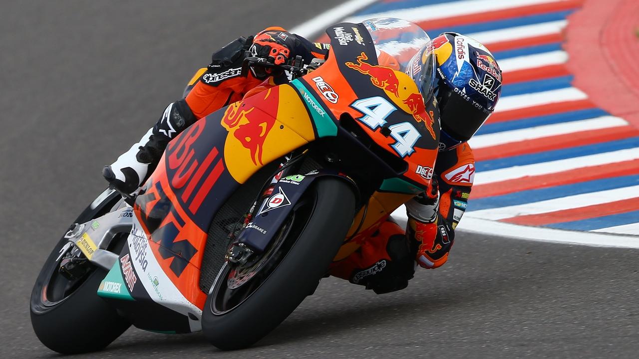Miguel Oliveira consigue la primera pole de la historia de KTM en Moto2