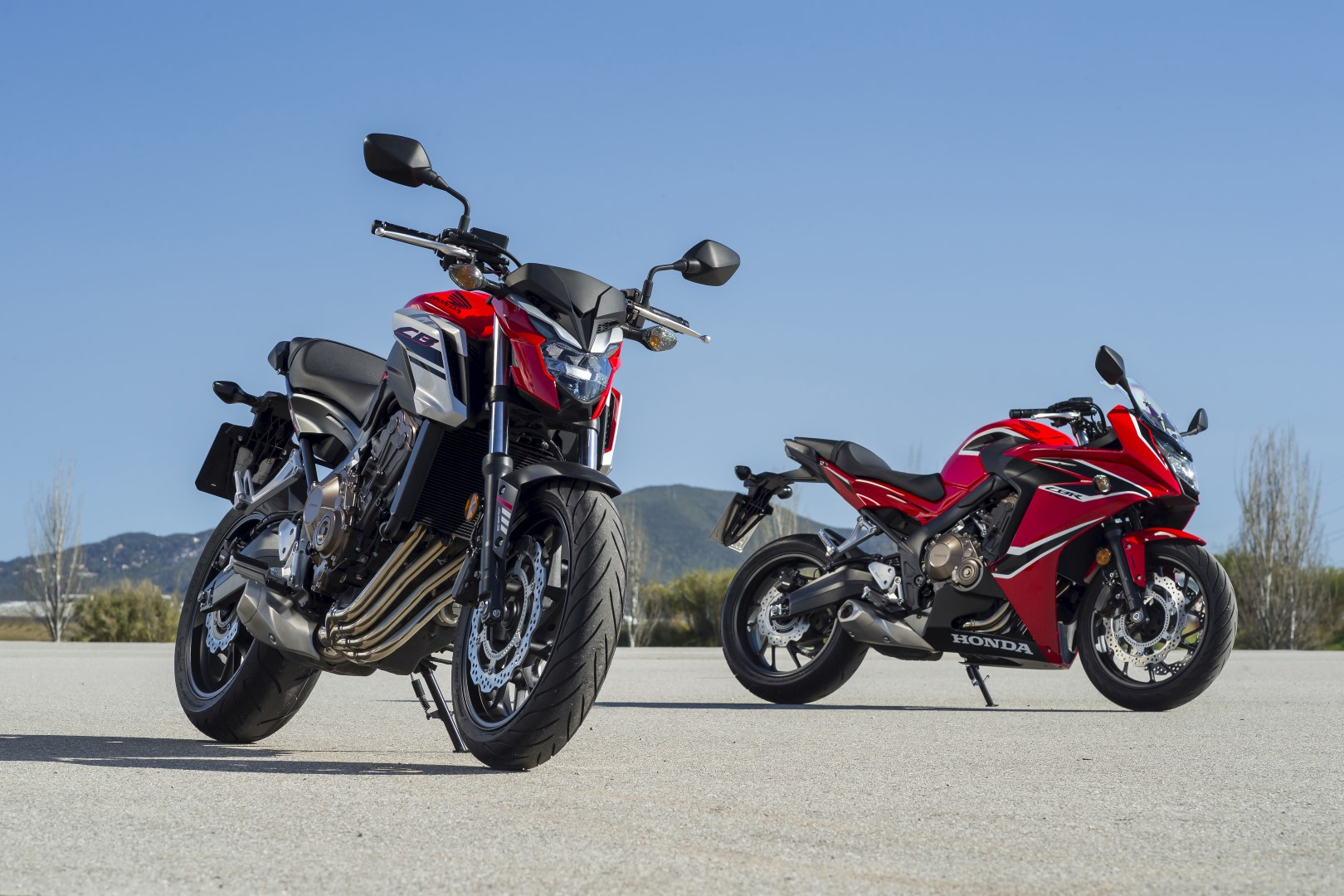 Honda CB650F & CBR650F, prueba, ficha técnica y primeras impresiones