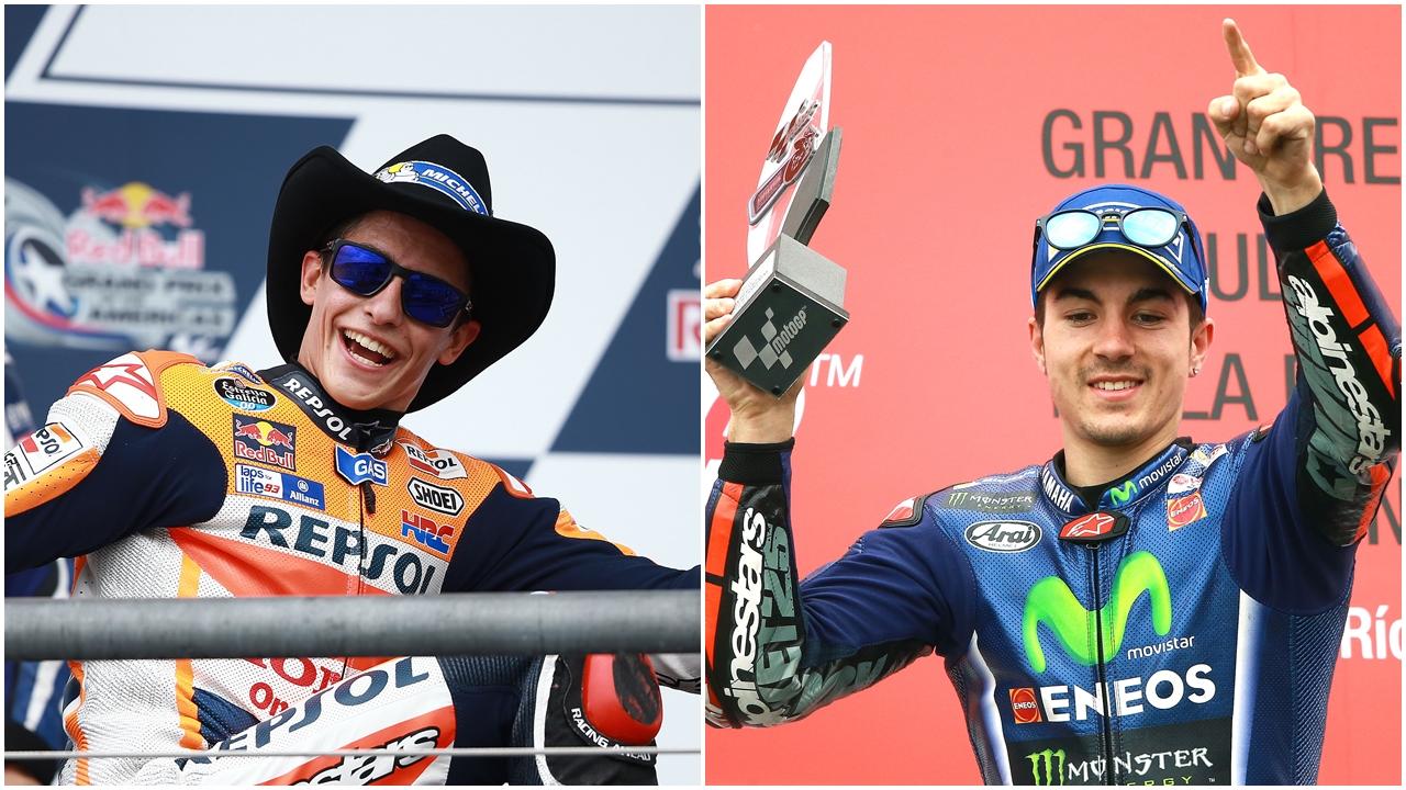 'Sheriff' Marc Márquez vs 'Top Gun' Maverick Viñales, el duelo de MotoGP llega a Texas