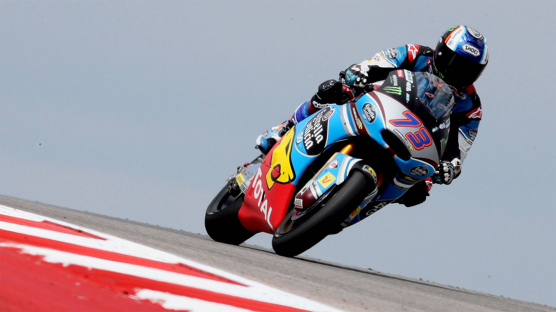 Álex Márquez y Franco Morbidelli al frente de Moto2 en los libres