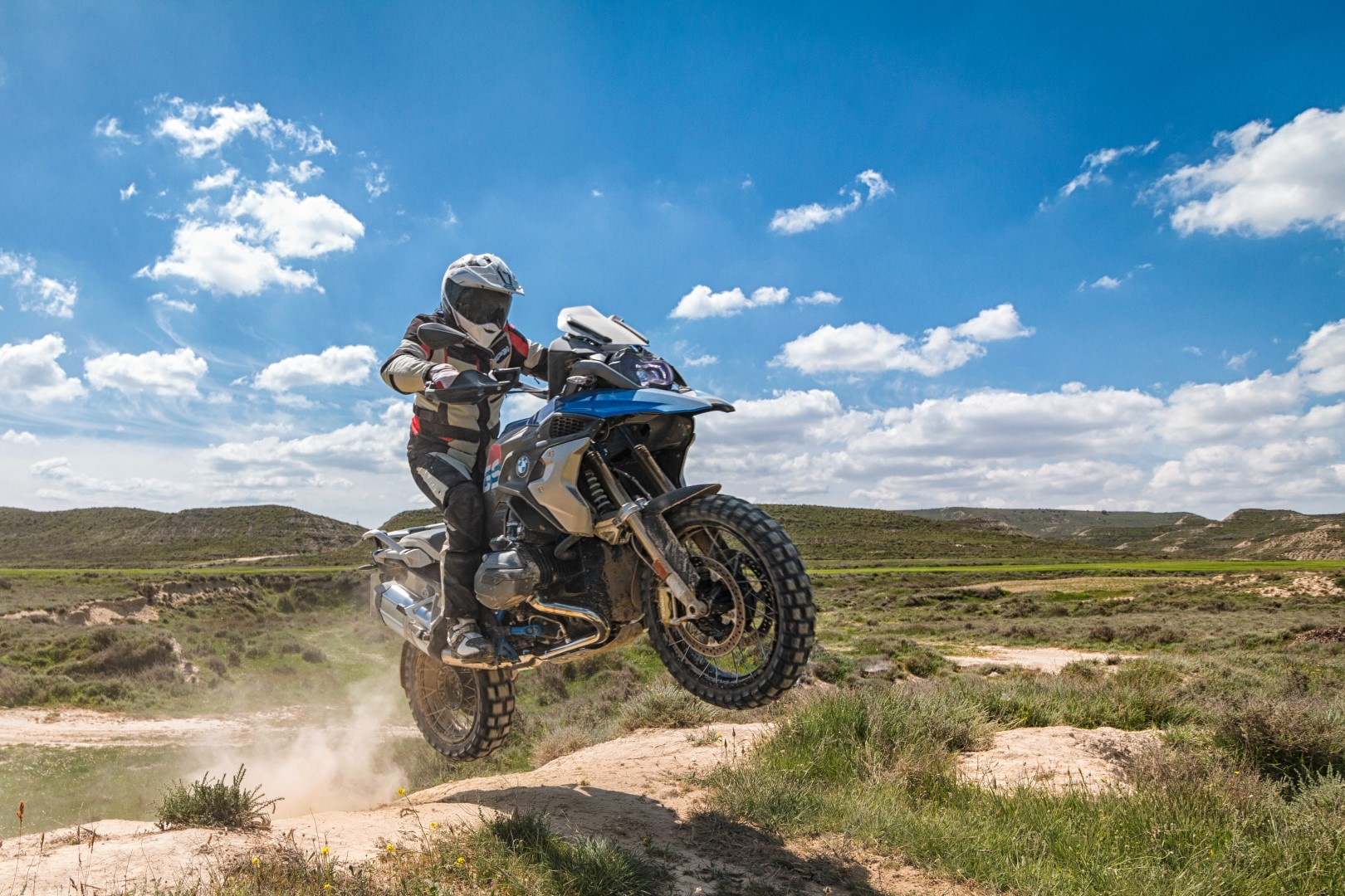 BMW R 1200 GS Ride, prueba off road por Los Monegros