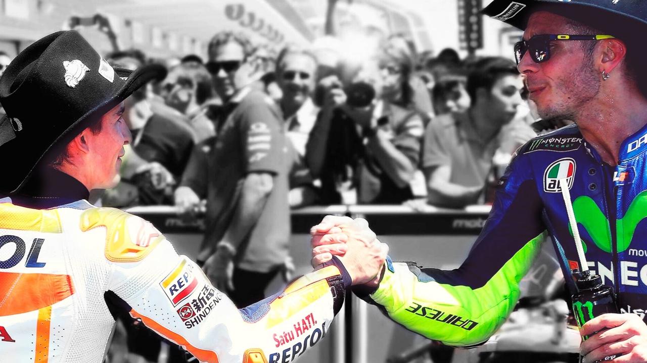 El clásico de Marc Márquez y el trance de Valentino Rossi