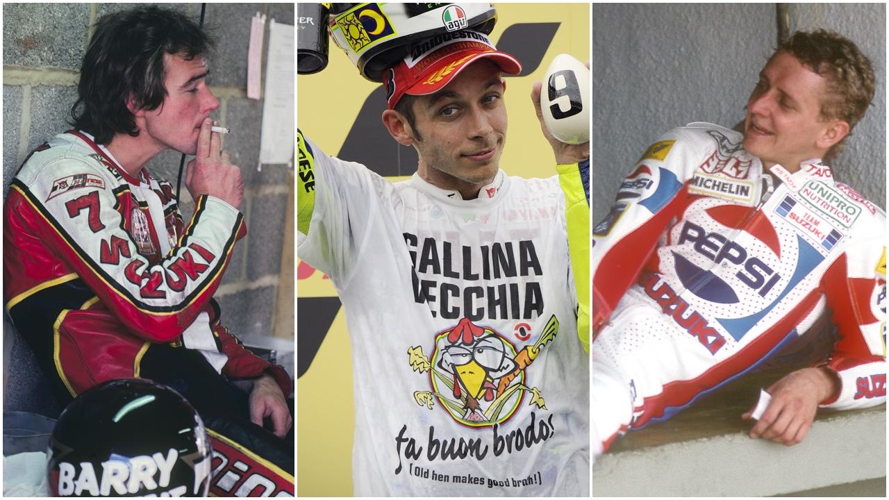 Los 10 pilotos más carismáticos de la historia del Mundial de motociclismo