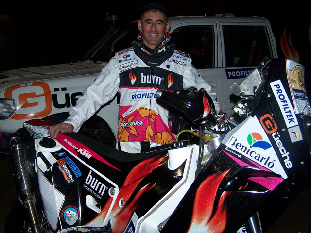 José Manuel Pellicer vuelve al Dakar