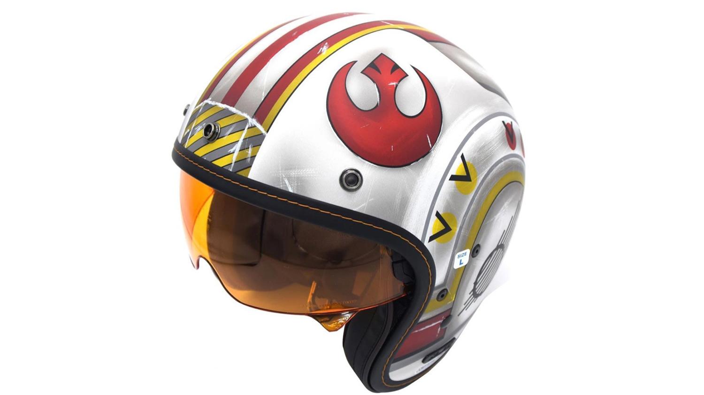 HJC Luke Skywalker X-WING, ¿se podía hacer mejor decoración para un casco?