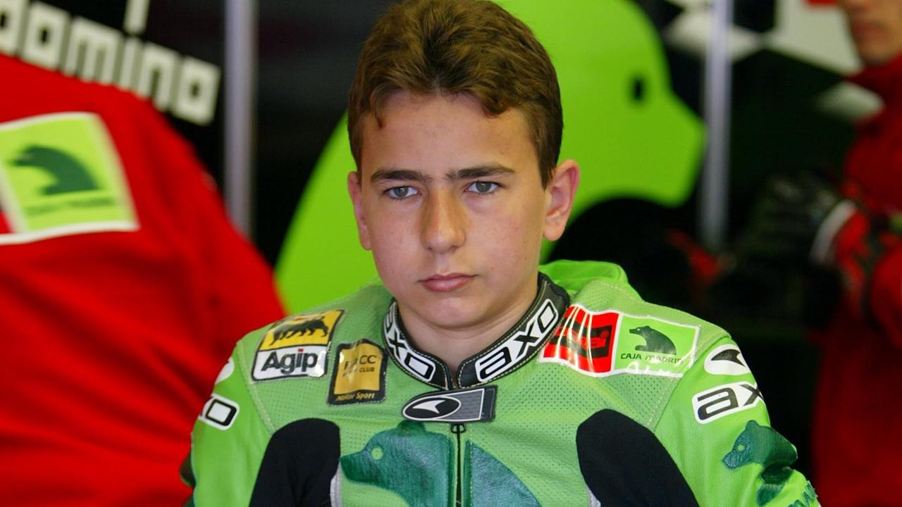 Jorge Lorenzo vuelve a cumplir 15 años