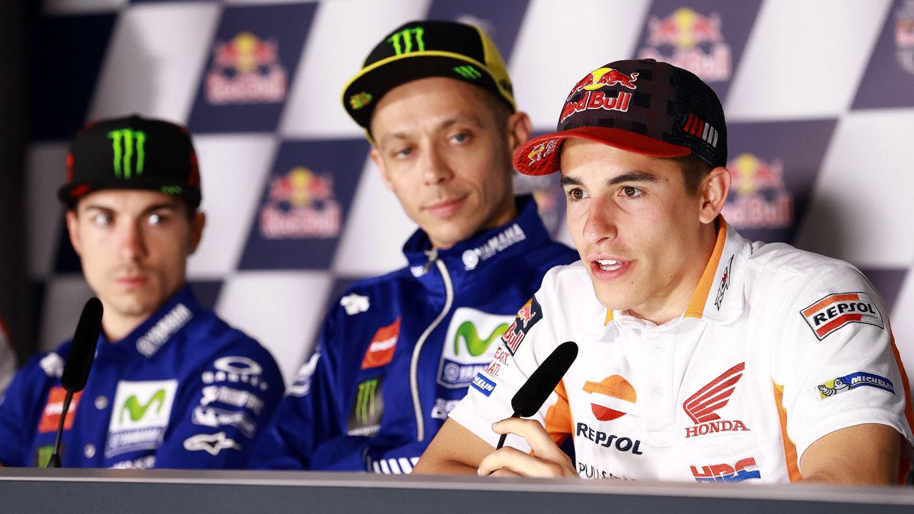 """Marc Márquez: """"No me encuentro cómodo con la Honda pero voy rápido"""""""