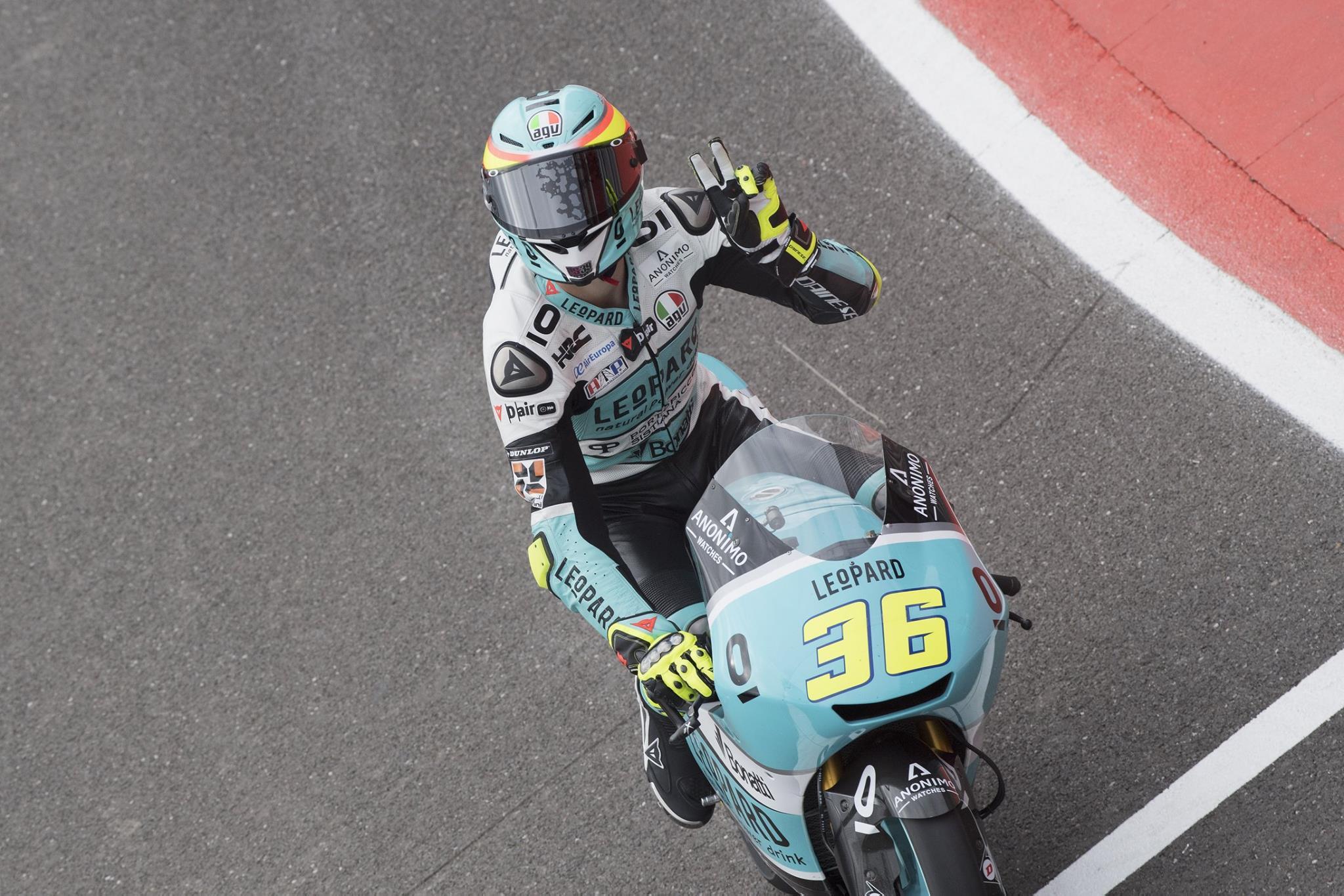 Joan Mir y Romano Fenati al frente de Moto3 en Jerez