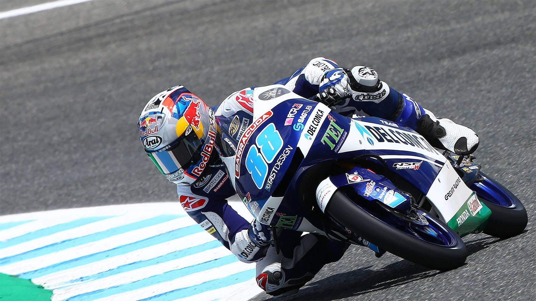 Moto3: Jorge Martín se lleva pole y récord de circuito en Jerez