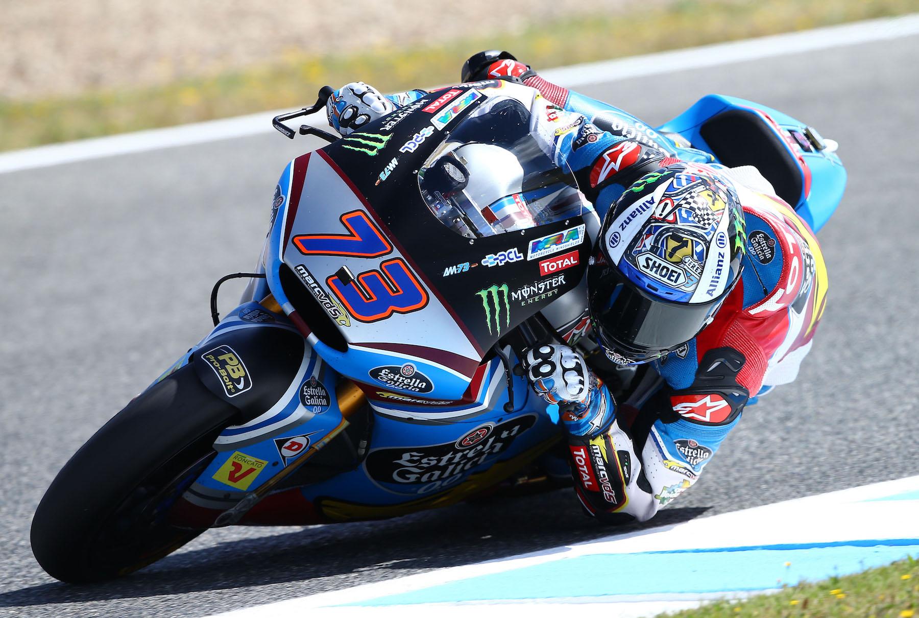 Álex Márquez arrasa en Moto2 con abandono de Franco Morbidelli