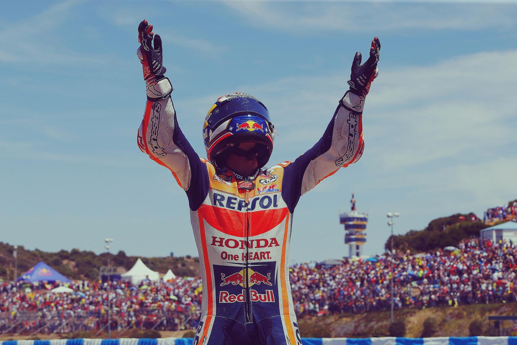 MotoGP: Dani Pedrosa conquista Jerez y Jorge Lorenzo sube al podio