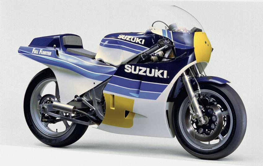 Suzuki RG500, una moto que cambió para siempre el mundial de 500cc