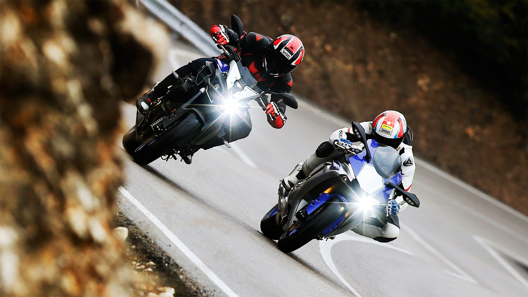 Comparativa Yamaha YZF-R1 vs Yamaha MT-10 2017, cara a cara
