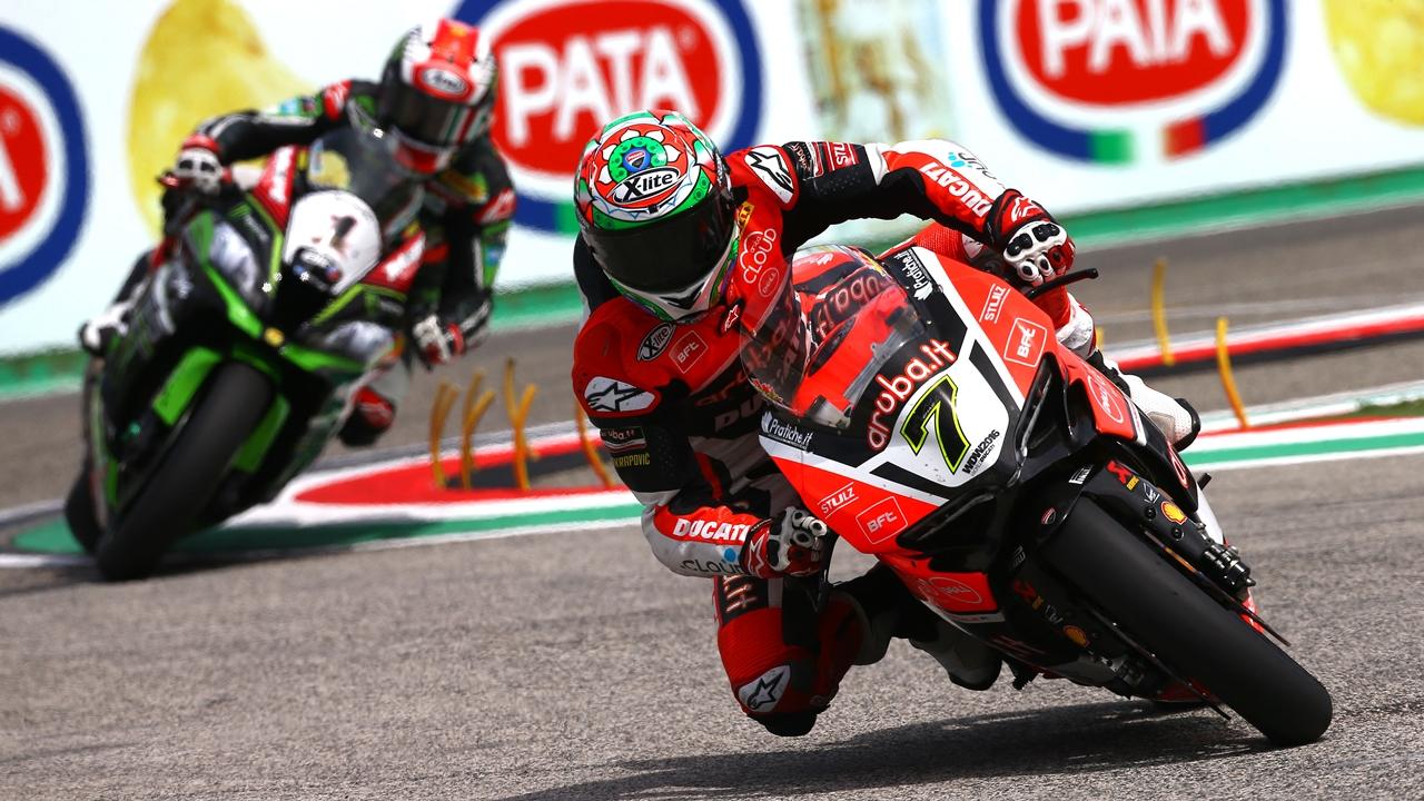 Superbike llega a Imola, territorio Ducati donde Chaz Davies no puede fallar