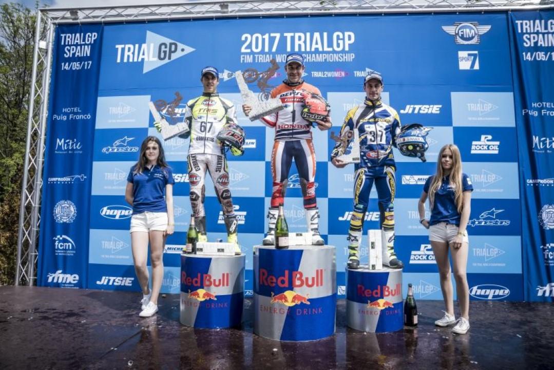 Toni Bou triunfa en la primera carrera del Mundial de Trial