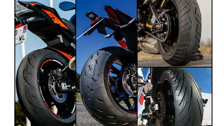 Especial neumáticos en MOTOCICLISMO